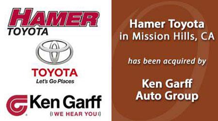 Toyota Mission Hills >> Hamer Toyota General Our Clients Ozog Automotive Group