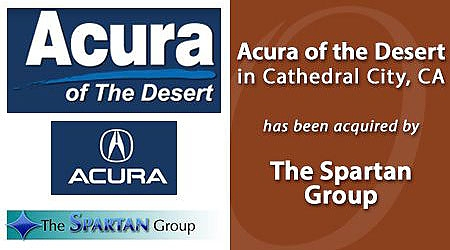 ACURA OF THE DESERT