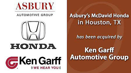 KEN GARFF ACQUIRED ASBURY'S