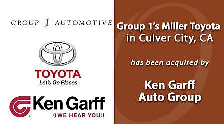 KEN GARFF ACQUIRED MILLER TOYOTA